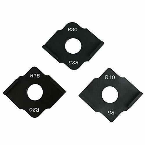 3 PCS Radius Jig Router Templates Aluminium Alloy R5 R10 R15 R20 R25 R30 NEW!!!