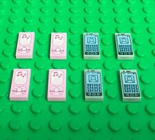 Lego New Mini Figures Smartphone X4,bright Pink music MP3 Player / Cellphone X4