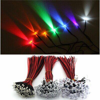 375PCS 3mm 5mm PCB Ultra Bright LED Light Emitting Diode Beads Component Kit !