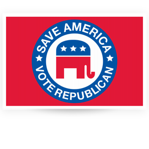 "save America Yard Sign 16/""x24/"""