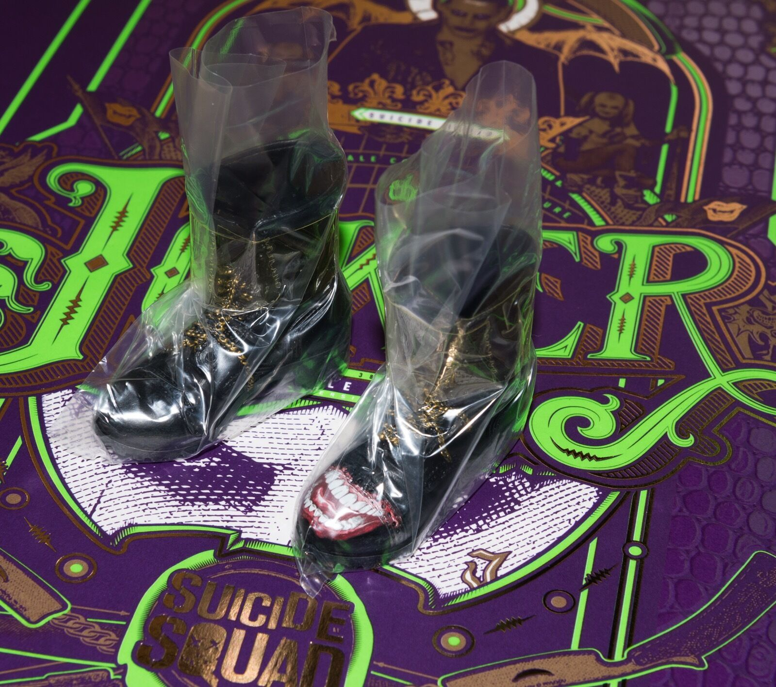Hot Hot Hot Toys New Joker Purple Coat Boots & Pegs 1 6 MMS382 Suicide Squad Steam Punk 3f6f40