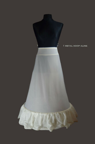Lorembelle Premium Quality Luxury Ivory Wedding Petticoat Crinoline Hoop Regular