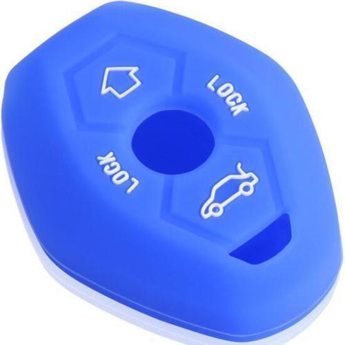 CB218 Silicone Key Case Protective For Bmw 1998-2005 X3 X5 3 5 7 Z4 Z3 ~red~ ✿