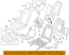 Genuine Ford BL3Z-96610A16-EC Front Seat Headrest Guide Button Release Oem Gray