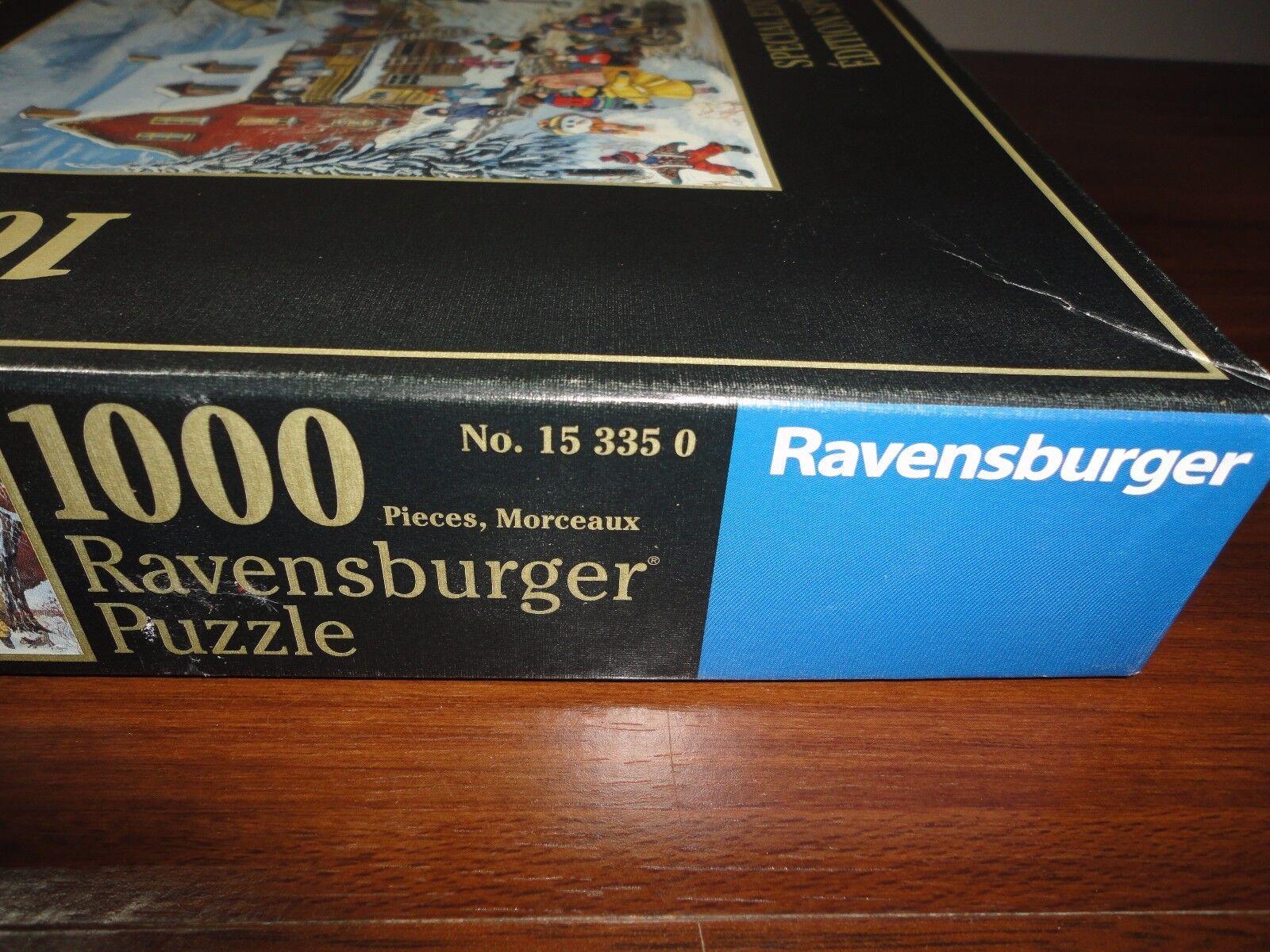 Ravensburger 2005 Puzzle Canadian Artist Pauline Paquin Lots