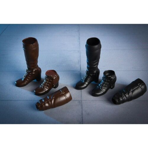 Vstoys 1//6 Scale Female Long//Short Combat Leather Boots//Shoes Accessories 18X02