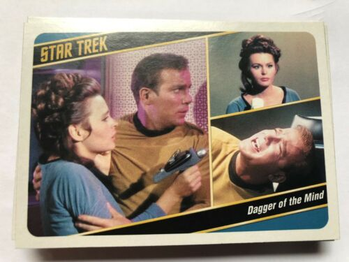2018 Star Trek TOS Captain Collection Chase Cards Gone Before Lobby !!!!!!