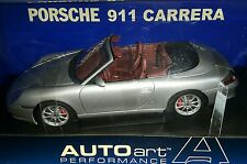 PORSCHE 911 CABRIO FACELIFT CONVERTIBLE (Arktissilber Metallic 1:18 AUTOart