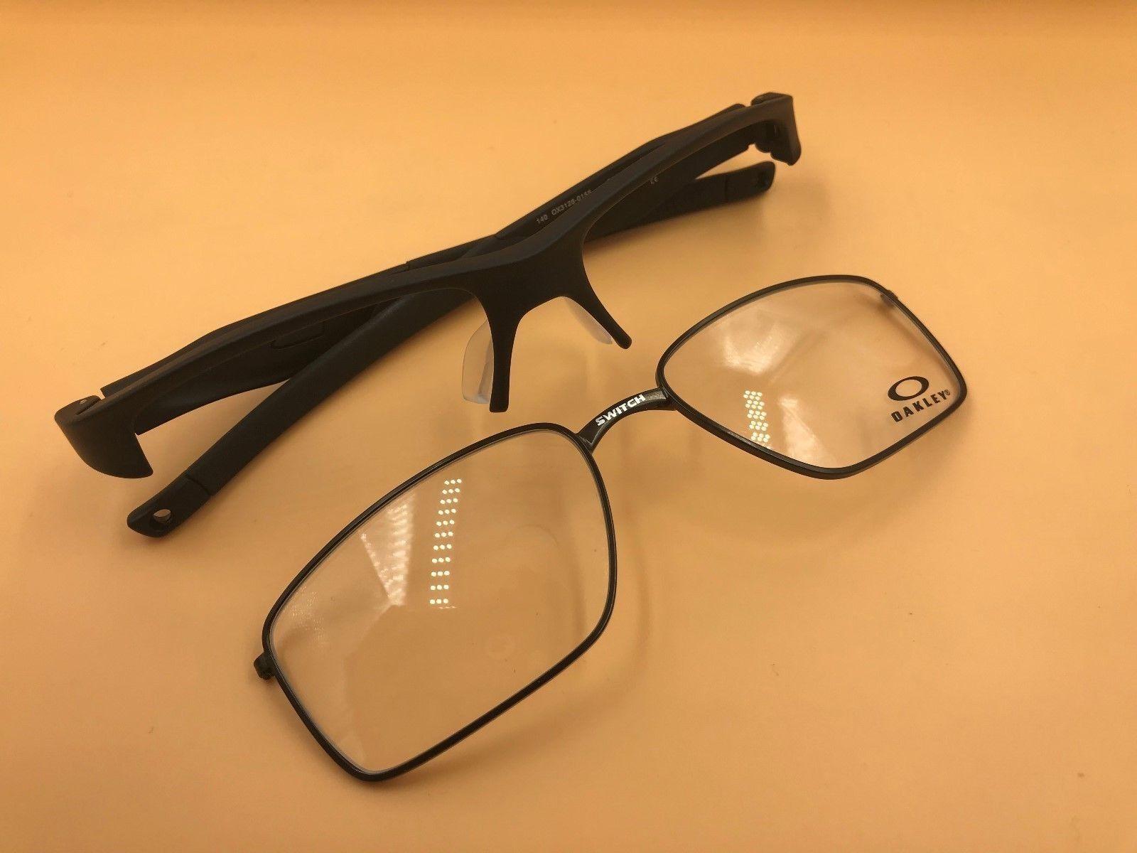 7a37084c56702 Oakley Crosslink Switch Eyeglasses Ox3128-0153 Satin Black 53mm ...