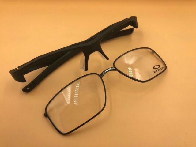2e348105e2b New Authentic Oakley Crosslink Switch Glass Frame OX3128 0153 Satin Black  53mm