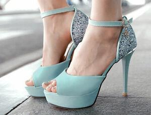 Sandalias-de-mujer-Plataforma-azul-strass-elegantes-comodo-talon-12-cm-3-8847