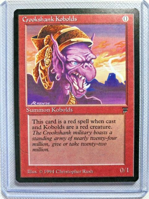 Crookshank Kobolds  Legends  1994 Mtg  Unplayed  Nm