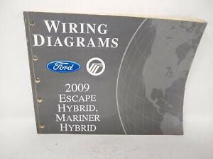 2009 OEM Ford Escape Mercury Mariner Hybrid Wiring ...