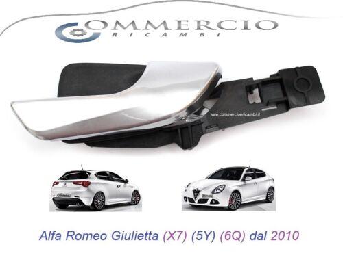 Maniglia Porta Interna Alfa Romeo Giulietta dal 2010 Lato Passegger Anteriore DX