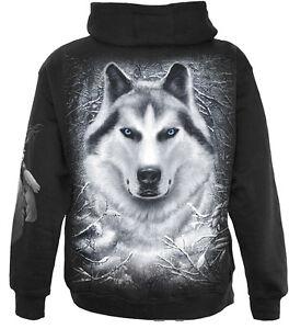 Wolf White Intera Cappuccio Wild Spiral Zip Direct Felpa Con AnxwzRB