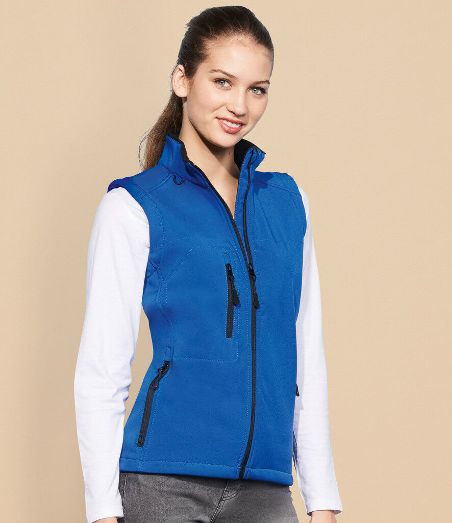SOL'S - Ladies Rallye Soft Shell Bodywarmer - 46801 - Shower And Windproof