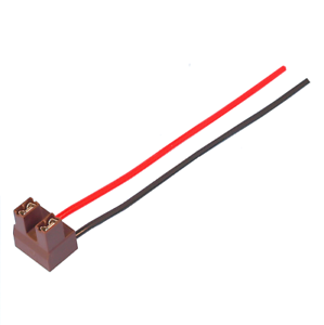 Headlamp Headlight Bulbs holder 2 Pin Bulb Holder Headlight Wiring Loom