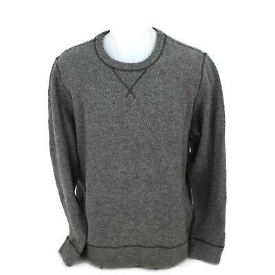 ed4a8febc Lucky Brand Men's Classic Warm 100% Wool Gray Winter Pullover Sweater Size  XL | eBay