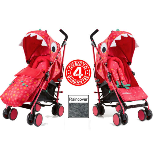 Brand new Cosatto supa 2018 pushchair in Miss Dinomite with Footmuff /& Raincover