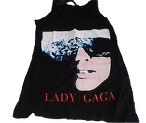 USA IMPORT LADY GAGA /'THE FAME/' LADIES VEST OFFICIAL BAND MERCHANDISE SIZE 6