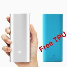 Xiaomi Mi 16000mAh Silver Power Bank - 100% Original - With Free Mi TPU Cover