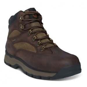 9eb649e037b Details about Timberland Gore-Tex Chocorua Dark Brown (Z102) A1HKQ Mens  Midi Boots All Sizes