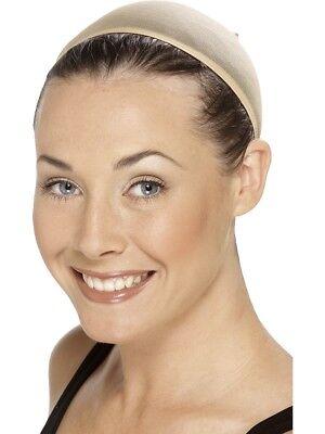 Adulti Parrucca Cappello Color Carne Traspirante Essenziale Accessorio Per