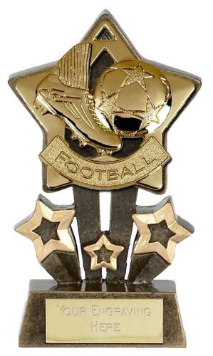 """Cheap star du football trophée 4.75 /""""GRAVURE GRATUITE-la plupart des sports disponibles A995 suis **"""