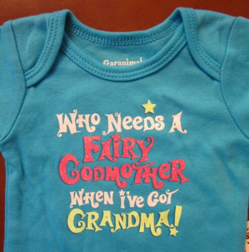 1st  First Grandma St Patrick/'s Day Easter Fairy Godmother One Piece NB-24 Mos