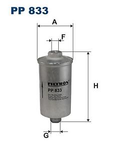 Kraftstofffilter-Filtron-PP833
