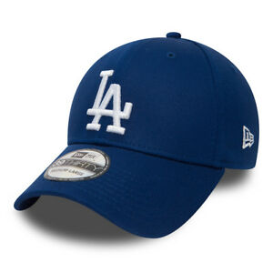 New Era League Essential 39thirty Los Angeles Dodgers Mens Snapback Cap