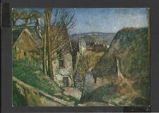Colour Art Postard The  House of the hanged man  by Paul Cezanne unposted