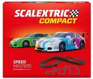 Scalextric compact C10304S500 circuito Speed Masters  ENVIO GRATIS!