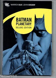 COMICS-VO-US-IN-ENGLISH-DC-DELUXE-BATMAN-PLANETARY-NIGHT-ON-EARTH-2011
