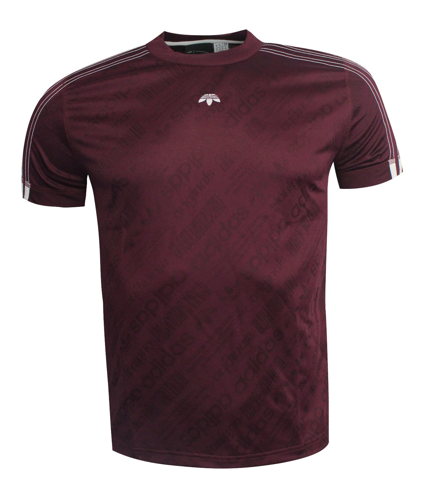 Adidas Originals by Alexander Wang Short Sleeve Uomo T-Shirt Maroon BR0255 EE150