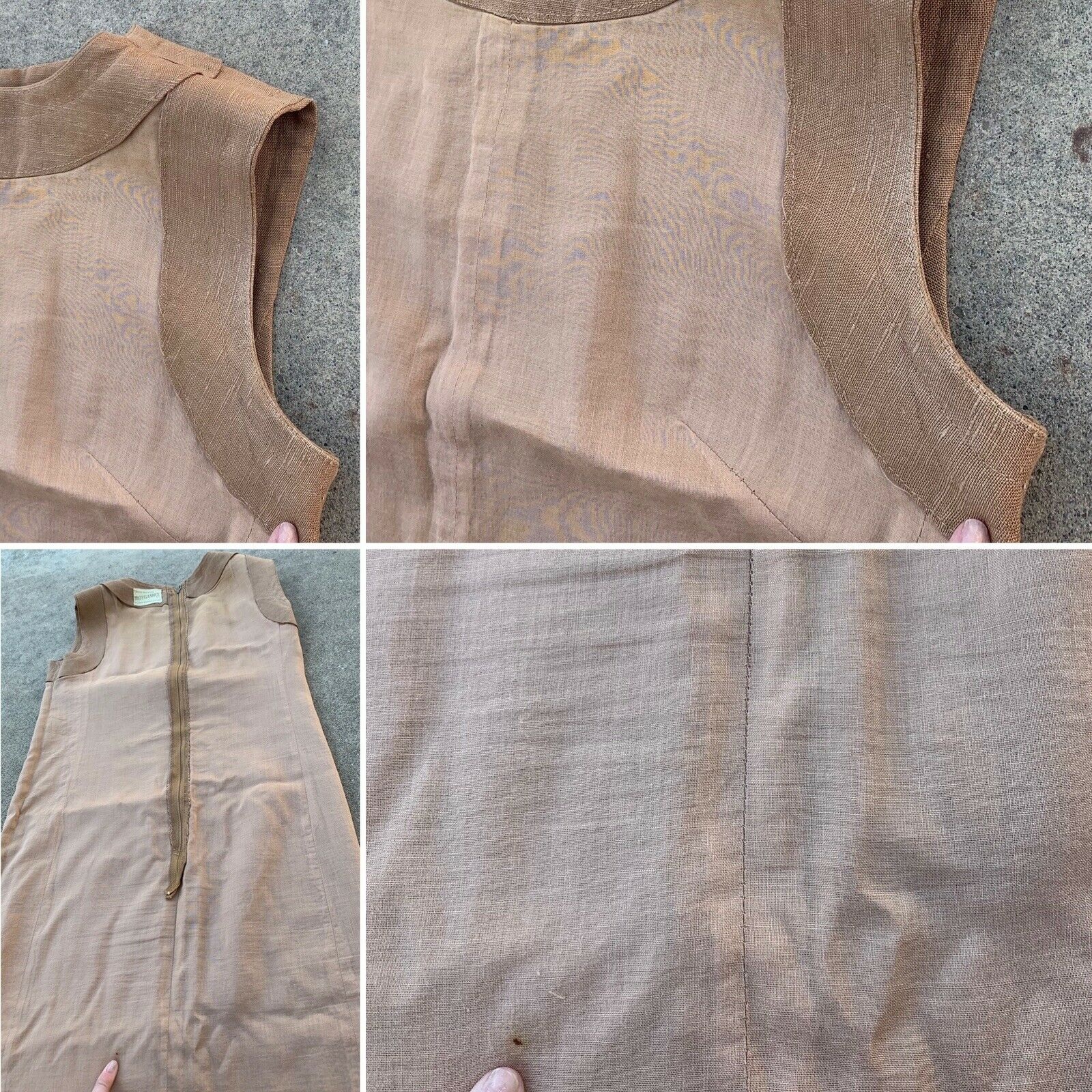 Vintage Crease Resisting MOYGASHEL Reg. Dress All… - image 4