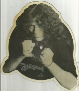 Whitesnake - Guilty 1983 7 inch shaped picture disc