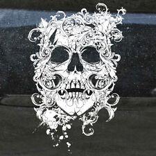 Skull Grunge Tattoo Tailgate Hood Window Decal Vehicle Truck Car SUV Vinyl Side