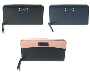 Kate-Spade-Jeanne-Large-Continental-Wallet-Zip-Around-Leather-Clutch-189