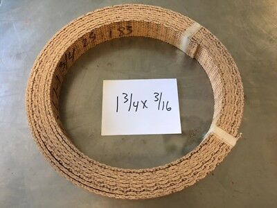 WOVEN BRAKE BAND SHOE MATERIAL 1X3//16 HI-FRICTION NON ASBESTOS FORD SOLD BY FOOT