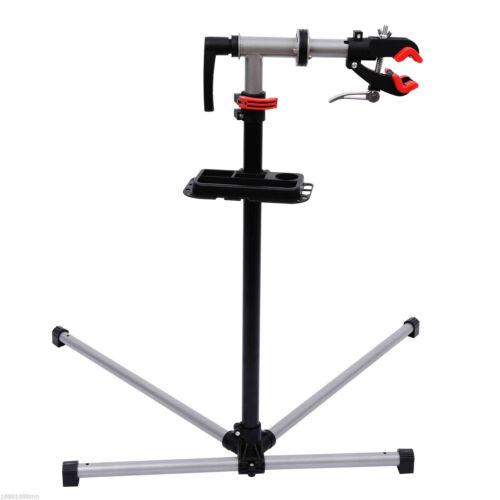 "47/"" To 75/"" Adjustable Bike Repair Stand Tool Tray Bicycle Cycle Rack Work"
