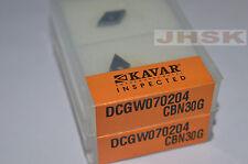 2pcs Dcgt070204 CBN Insert Diamond Inserts Carbide Bit for Steel
