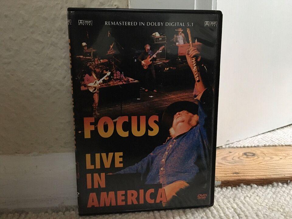 FOCUS _lIVE IN AMERICA, instruktør FOCUS, DVD