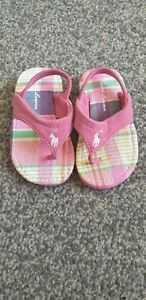 baby-girls-pink-polo-Ralph-Lauren-sandals-uk-size-1