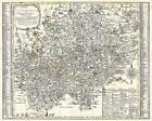 Historische Karte: Erzgebirge - Erzgebirgischer Kreis 1761 (Plano) von Peter (der Jüngere) Schenk (2002, Kunststoffeinband)