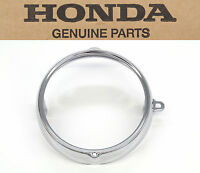 Honda 6 Chrome Headlight Ring Rim Ca Ct Cb Sl St Xl Ss 70-175 (see Notes)b44