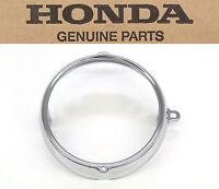 Honda 6 Chrome Headlight Ring Rim Ca Ct Cb Sl St Xl Ss 70-175 (see Notes)b44