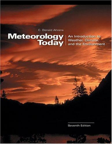 Meteorology Today: An Introduction to Weather