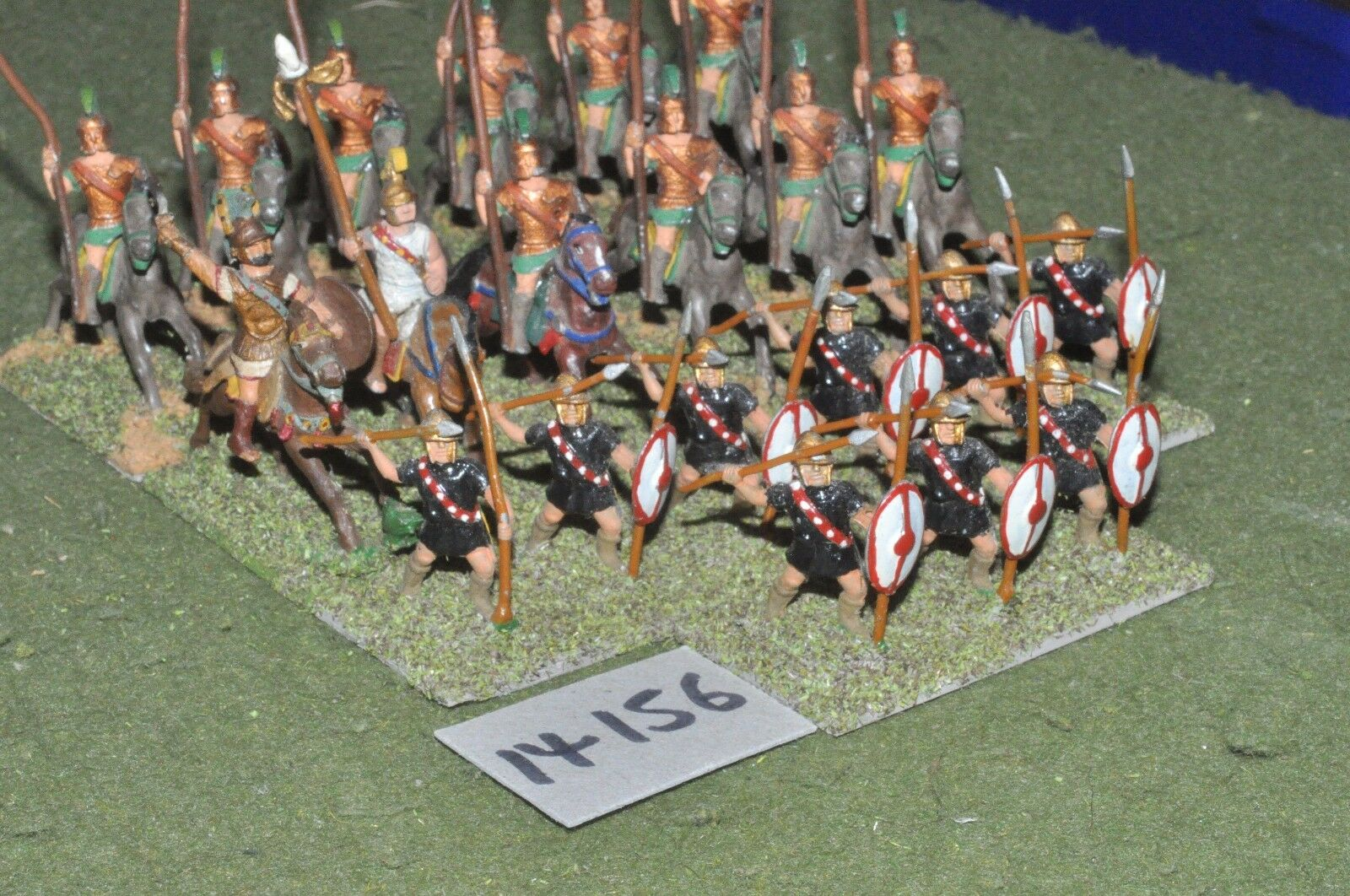 25mm classical   greek - ancient battlegroup 21 figs - inf (14156)