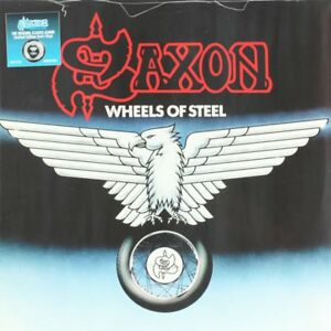 Saxon-Wheels-of-Steel-Vinyl-Record-LP-NEW
